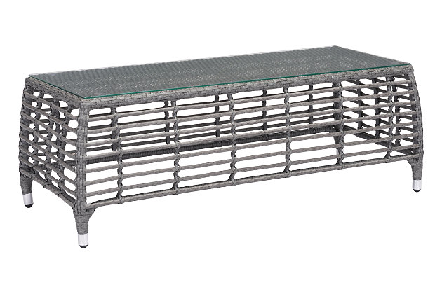 Patio Coffee Table, , large