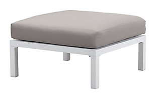 Patio Ottoman, , large