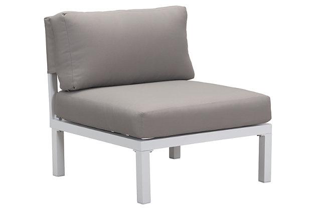 Patio Armless Chair, , large