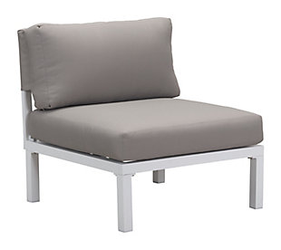 Patio Armless Chair, , large
