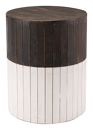 Patio Wooden Round Garden Seat, , large