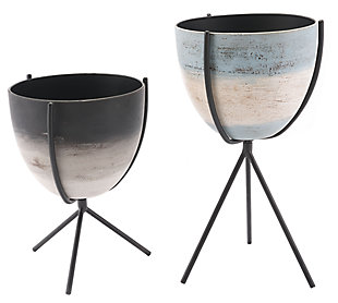 Patio Planters (Set of 2), , large