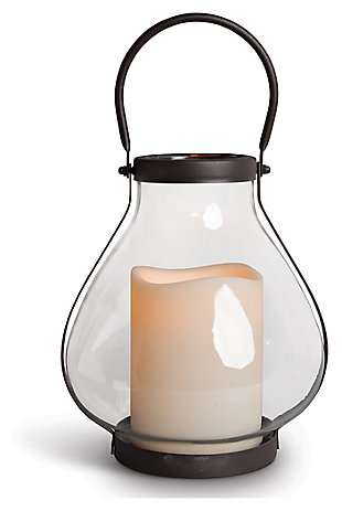 Outdoor Schoolhouse LED Lantern, , large