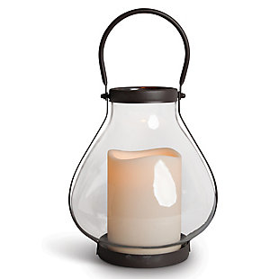 Outdoor Schoolhouse LED Lantern, , rollover