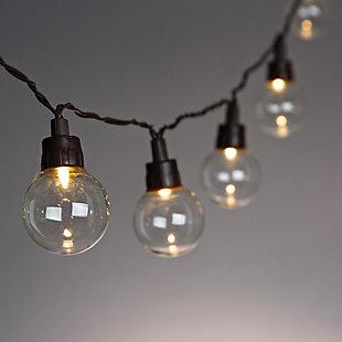 Outdoor 12' Solar Light String Set, , rollover