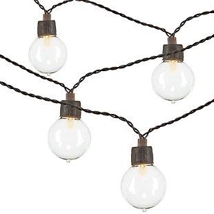 Outdoor 12' Solar Light String Set, , large