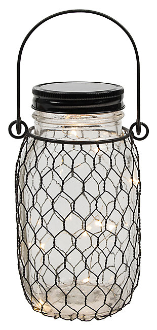 "Outdoor 6.9"" Glass Mason Jars (Set of 4), , large"