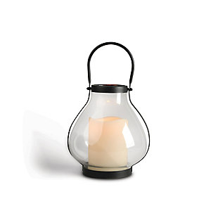 "Outdoor 10.3"" Metal School House Lantern, , rollover"