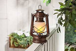 "Outdoor 9.5"" Camping Lantern (Set of 2), , rollover"