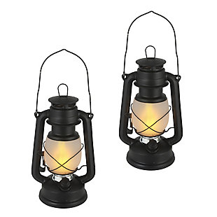 "Outdoor 9.5"" Camping Lantern (Set of 2), , large"