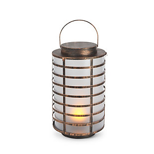 """Outdoor 15.5"""" Copper Metal and Plastic Lantern, , large"""