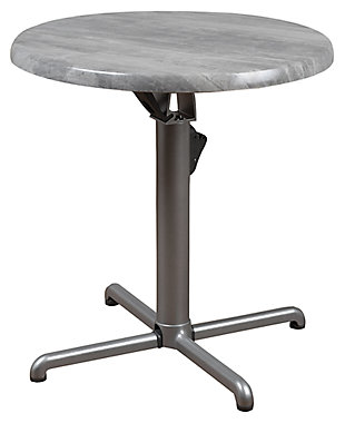 Round Aluminum Table, , large