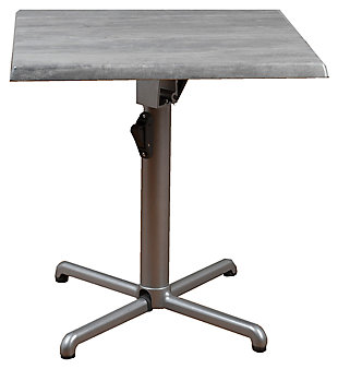Square Square Aluminum Table, , large
