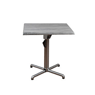 Square Square Aluminum Table, , large