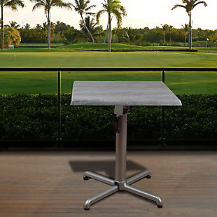 Square Square Aluminum Table, , rollover