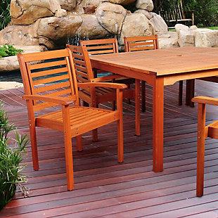 Eucalyptus Wood Armchair, , rollover