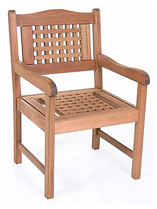 Eucalyptus Wood Armchair, , large