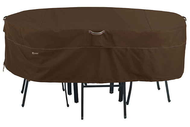Outdoor Large Rectangular/Oval Patio Table Furniture Cover, , large