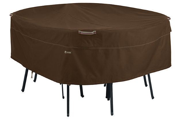 Outdoor Round Patio Table Furniture Cover, , large