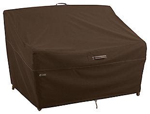 Outdoor Medium Deep Seated Patio Loveseats Furniture Cover, , large
