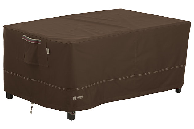 Outdoor Rectangular Coffee Table Furniture Cover, , large