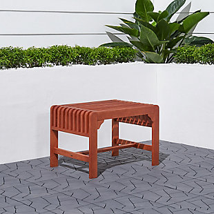 Vifah Malibu Outdoor Backless Garden Stool, , rollover