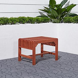 Vifah Malibu Outdoor Backless Garden Stool, , rollover