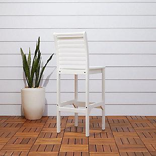 Vifah Bradley Outdoor Bar Chair, , large