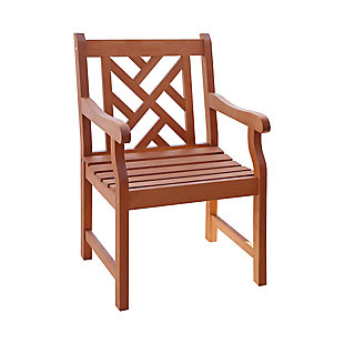 Vifah Malibu Outdoor Garden Armchair, , large