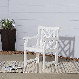 Vifah Bradley Outdoor Garden Armchair, , rollover