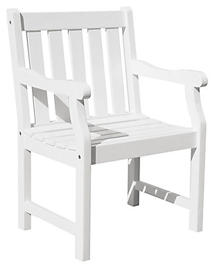 Vifah Bradley Outdoor Garden Armchair, , large