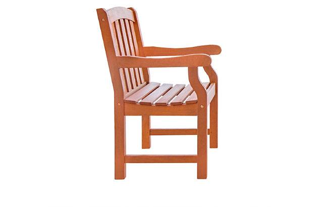 Vifah Malibu Outdoor Garden Armchair, , large