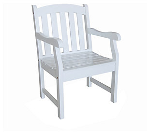 Vifah Bradley Outdoor Garden Armchair, , large