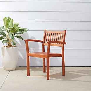 Vifah Malibu Outdoor Garden Stacking Armchair (Set of 4), , rollover