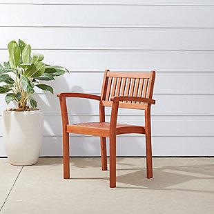Vifah Malibu Outdoor Garden Stacking Armchair (Set of 4), , rollover