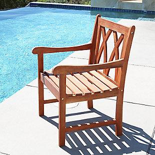 Vifah Malibu Outdoor Garden Armchair, , rollover