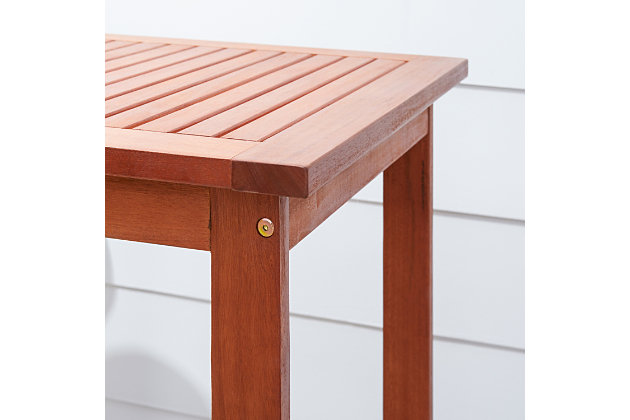 Vifah Malibu Outdoor Bar Table, , large