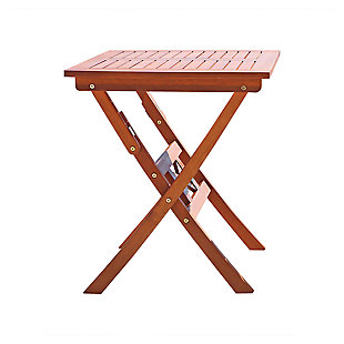 Vifah Malibu Outdoor Folding Bistro Table, , large