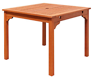 Vifah Malibu Outdoor Stacking Table, , large