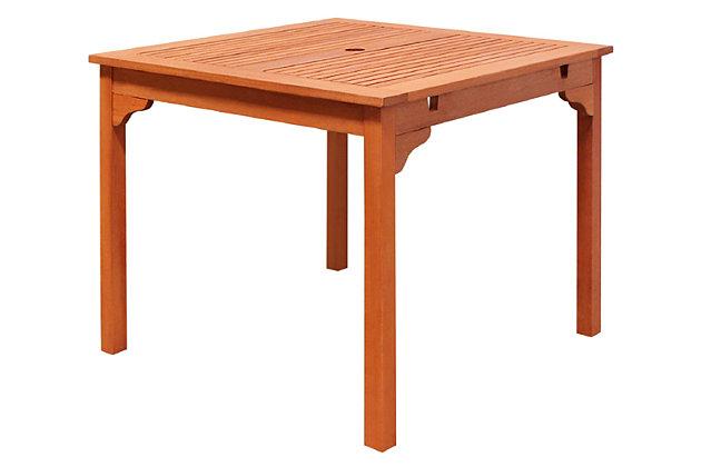 Vifah Malibu Outdoor Stacking Table, , large