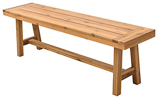 Vifah Miami Outdoor Dining Picnic Bench, , large
