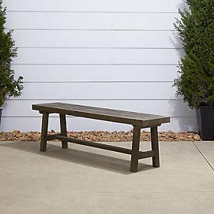 Vifah Renaissance Outdoor Dining Picnic Bench, , rollover