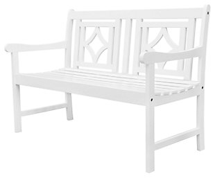 Vifah Bradley Outdoor Diamond 4ft Bench, , large