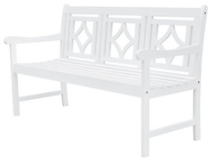 Vifah Bradley Outdoor Diamond 5ft Bench, , large