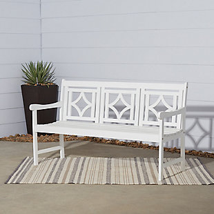 Vifah Bradley Outdoor Diamond 5ft Bench, , rollover