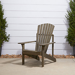 Vifah Renaissance Outdoor Wood Adirondack Chair, , rollover