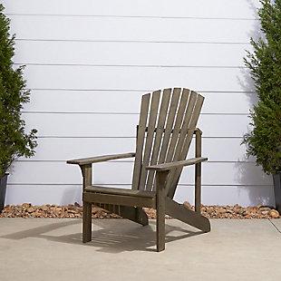 Vifah Renaissance Outdoor Wood Adirondack Chair, , rollover