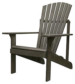 Vifah Renaissance Outdoor Wood Adirondack Chair, , large