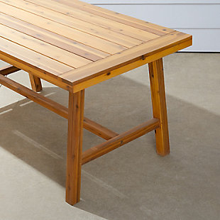 Vifah Miami Outdoor Picnic Dining Table, , large