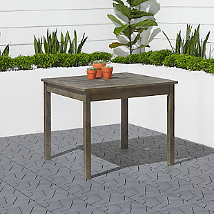 Vifah Renaissance Outdoor Stacking Table, , rollover